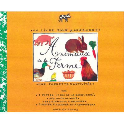 Animaux De La Ferme - un livre pour apprendre-Животните от фермата, книга за учене