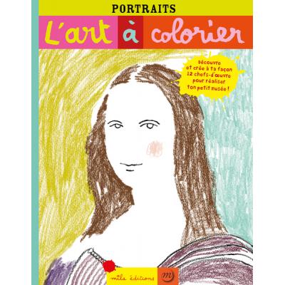 L'art à colorier : Portraits (Изкуството за оцветяване: Портрети)
