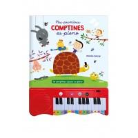 Mes premières comptines au piano : 15 comptines à jouer au piano
