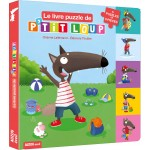 Le livre puzzle de P'tit loup Album - Книга пъзел Малкият вълк
