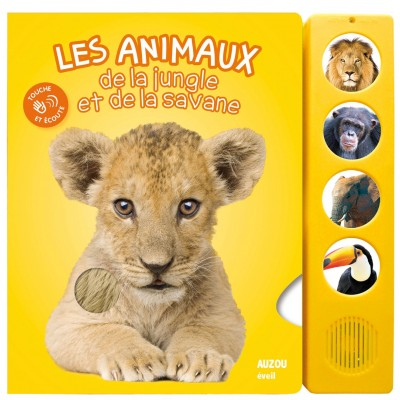 Les animaux de la jungle et de la savane Album