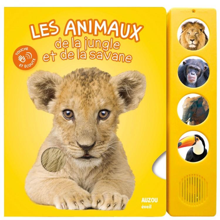 Les animaux de la jungle et de la savane Album