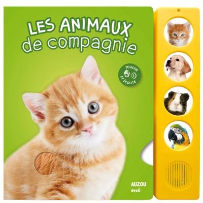 Les animaux de compagnie Album - Книга на френски език