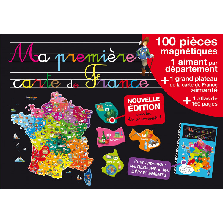 Ma première carte de France