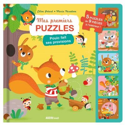 Auzou - Mes premiers puzzles - Pouic fait ses provisions