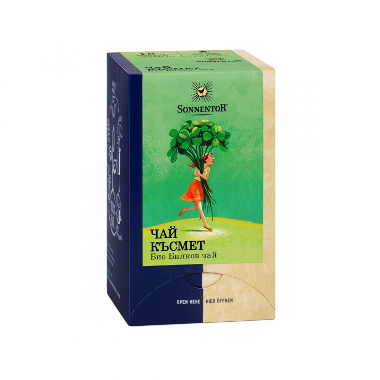 Био билков чай Късмет - Sonnentor