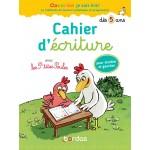 Cahier d'écriture dès 5 ans - Книга на френски език