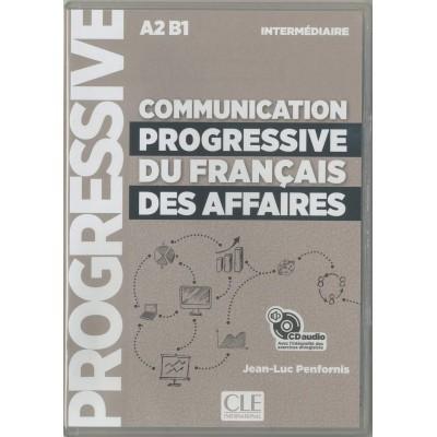 Communication progressive du français des affaires - Niveau intermédiaire (A2/B1) - CD audio