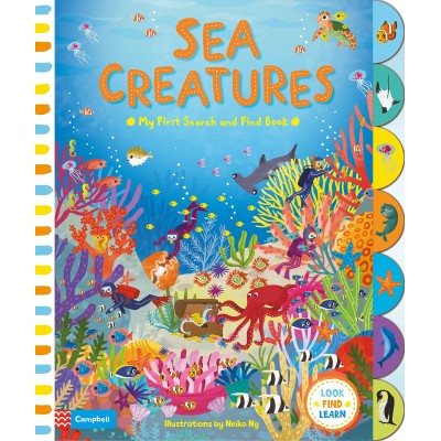 Sea Creatures Board book