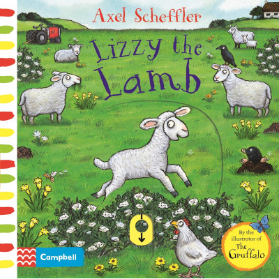 Lizzy the Lamb: A Push, Pull, Slide Book Board book