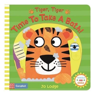Tiger, Tiger, Time to Take a Bath! - Книга на английски език