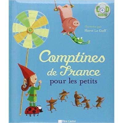 Comptines de France pour les petits -Relié