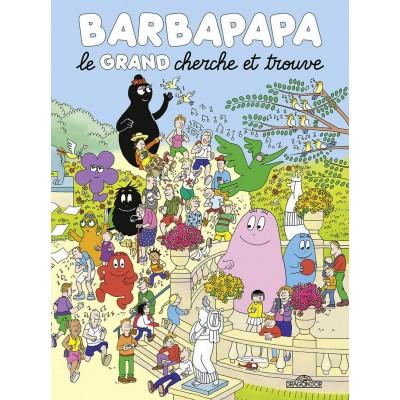 Barbapapa - Le grand cherche et trouve Cartonné - Татко Барба - голямата книга търси и намери - картонена