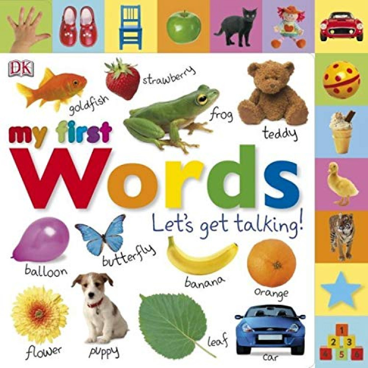 My First Words Let's Get Talking Board book - Книга на английски език
