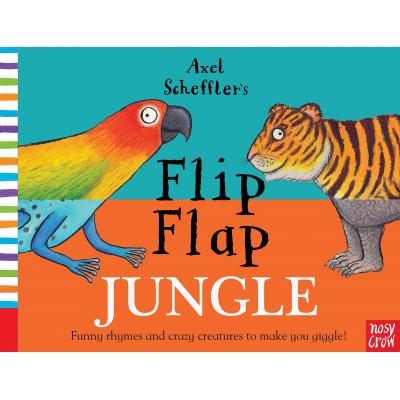 Axel Scheffler's Flip Flap Jungle - Книга на английски език