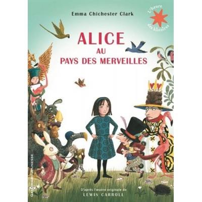 Alice au pays des merveilles - Алиса в страната на чудесата - Книга на френски език