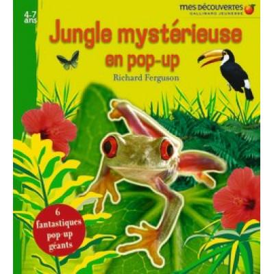 Jungle mystérieuse en pop-up