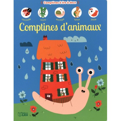 Comptines à lire à deux: Comptines d'animaux - Dès 2 ans