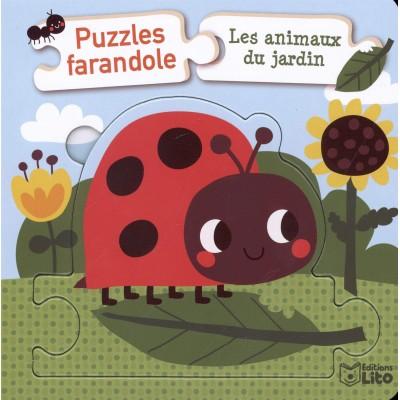 Puzzles farandole - Les animaux du jardin