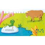 Les fables de la Fontaine: La grenouille qui veut se faire aussi grosse que le boeuf