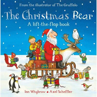The Christmas Bear, a lift-the-flap-book - Книга на английски език