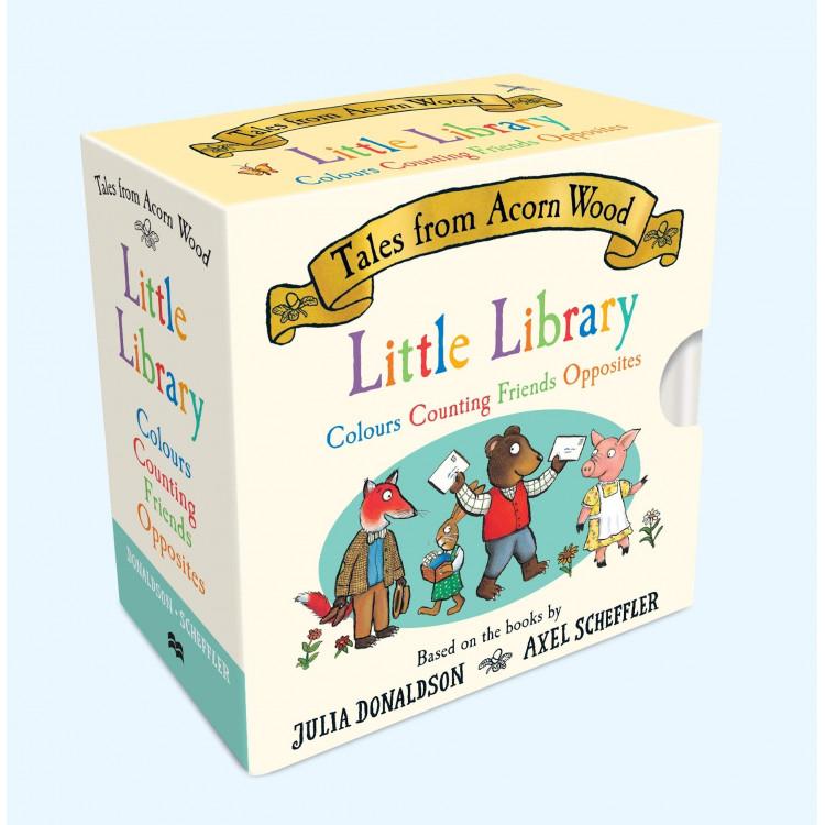 Tales From Acorn Wood Little Library Board book - Книга на английски език