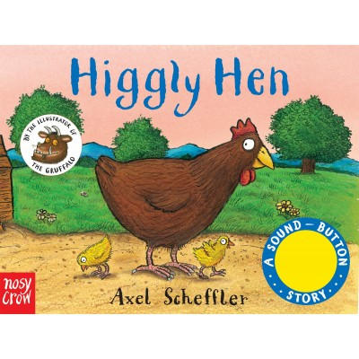 Sound-Button Stories: Higgly Hen (A Sound-Button Story) Board book - Книга на английски език