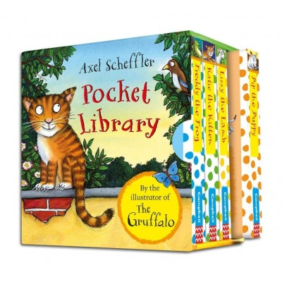 Axel Scheffler Pocket Library Board book - Книга на английски език