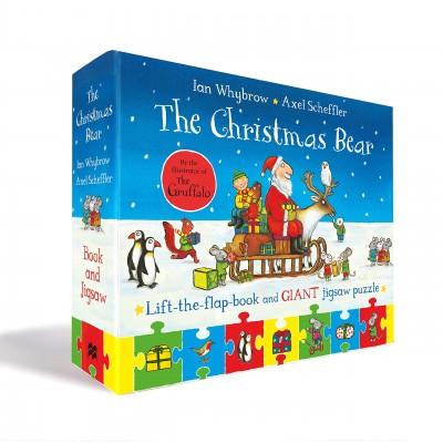 The Christmas Bear Book and Jigsaw Set (Tom and Bear) Board book