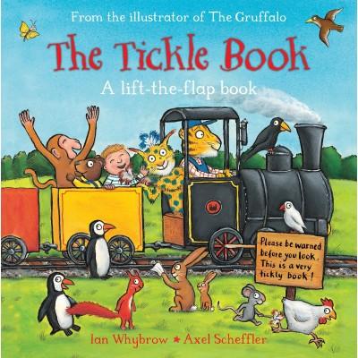 The Tickle Book - a lift the flap book - Книга на английски език