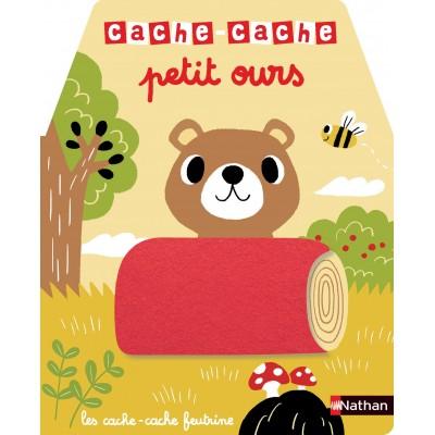 Cache-cache petit ours - Livre matière - éveil