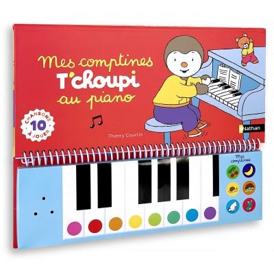 Mes comptines T'choupi au piano - Livre-piano - Книга пиано на френски език