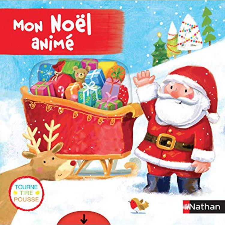 Mon Noël animé Album - Книга на френски език