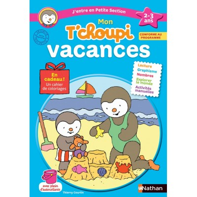 Cahier de vacances T'choupi