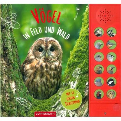 Vögel in Feld und Wald: Mit 12 echten Tierstimmen
