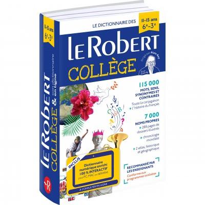 Dictionnaire Le Robert Collège et son dictionnaire en ligne - 11 /15 ans