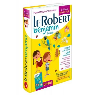 Dictionnaire Le Robert Benjamin - 5/8 ans - GS/CP/CE