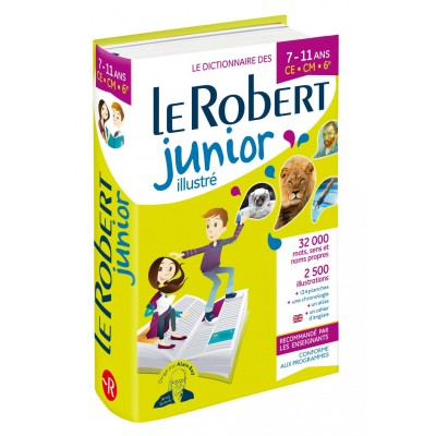 Dictionnaire Le Robert Junior illustré - 7/11 ans