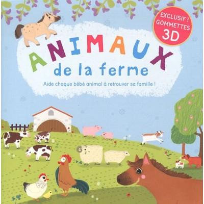 Animaux de la ferme : Aide chaque bébé animal à retrouver sa famille !