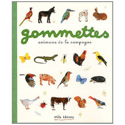 Gommettes animaux de la campagne - Стикери животните на село