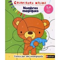 Coloriages Malins - Nombres Magiques Petite Section 3/4 ans