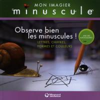 Observe bien les minuscules ! : Lettres, chiffres, formes et couleurs Album