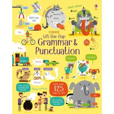 Lift-the-Flap Grammar and Punctuation - Книга на английски език
