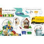 Les déchets et le recyclage - Mon livre des questions-réponses-Книга на френски език