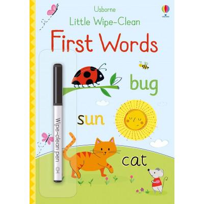 Little Wipe-Clean First Words - Книга на английски език
