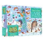 Dans la forêt - Contient un livre cherche et trouve et un puzzle de 100 pièces