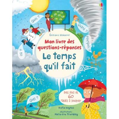 Le temps qu'il fait - Mon livre des questions-réponses - Книга на френски език