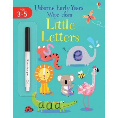 Little Letters - Wipe-Clean - Книга на английски език