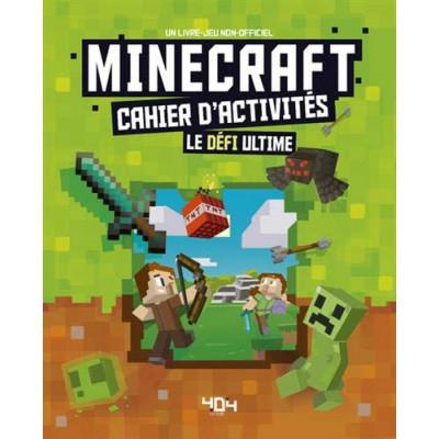 Minecraft – Cahier d'activités