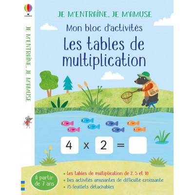 Les tables de multiplication - Таблицата за умножение
